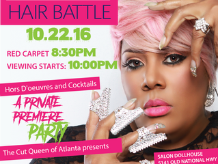 "The Cut Queen of Atlanta Hosts Exclusive Viewing Party for ""Centric TV's: Bronner Brothers Hair Batt"