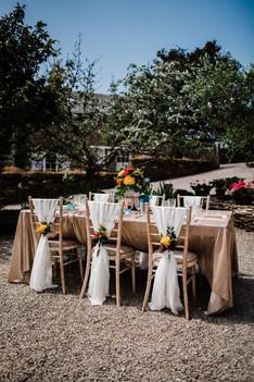 Bright & Bold Wedding Table