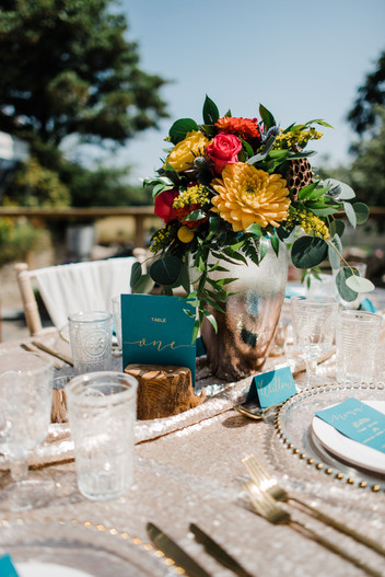 Bright & Bold Table Centrepiece