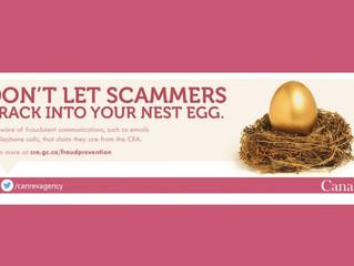 Fraud, Phishing Scams & CRA