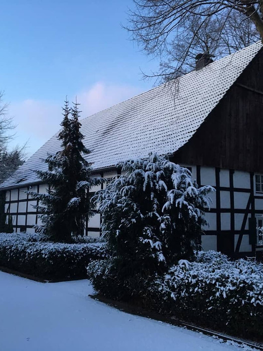 Beckers Hof im Winter