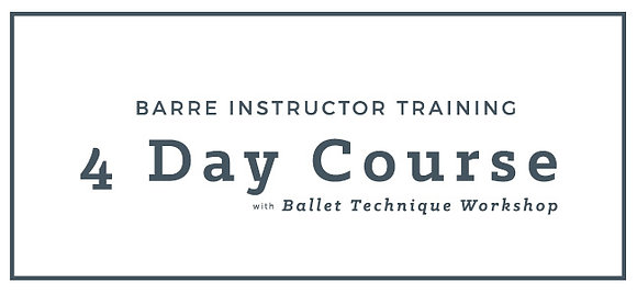 4 Day Course + Ballet Technique Workshop