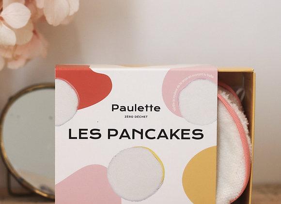 Boite de 3 pancakes démaquillants - Paulette Zéro déchet