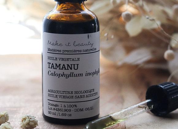 Huile végétale de Tamanu - Make It Beauty