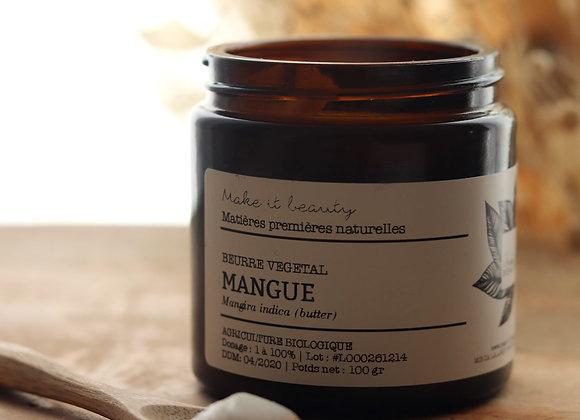 Beurre végétal de Mangue bio - Make It Beauty