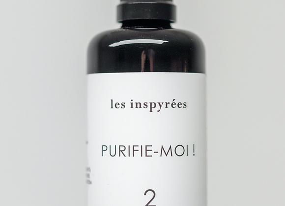 """Hydrolat """"#2 Purifie-moi !"""" - Les Inspyrées"""