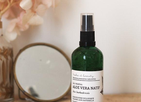 Gel d'Aloe Vera natif bio - Make It Beauty