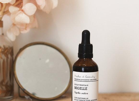 Huile végétale de Nigelle bio - Make It Beauty