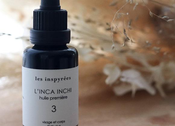 """Huile végétale """"#3 L'Incha Inchi, huile première"""" - Les Inspyrées"""