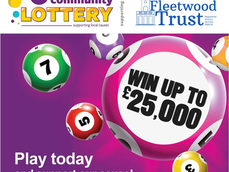 Support the Fleetwood Trust when you play the Wyre Community Lottery