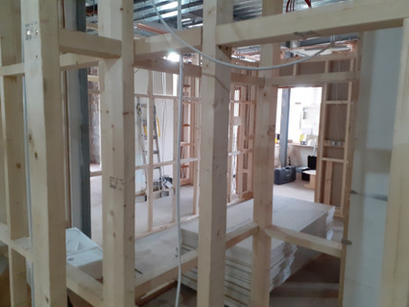Work resumes on The Pantry