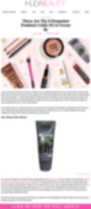 HudaBeauty.com article - Best Drugstore Makeup Products Celeb MUAs Swear By