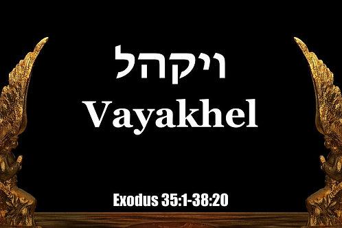 Parasha Vayakel