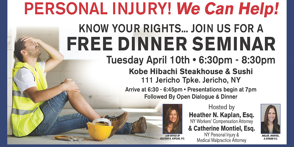 Workers' Compensation! Personal Injury! We can help!
