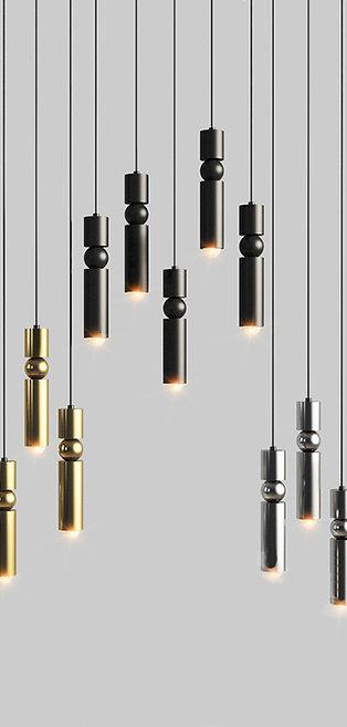 Минималистичный дизайнерский светильник арт.83118