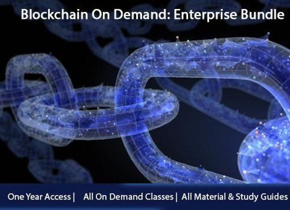 Blockchain On Demand: Enterprise Bundle + Certifications
