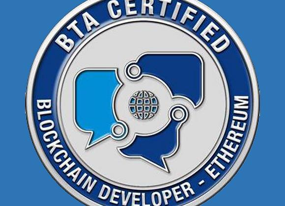 Certified Blockchain Developer - Ethereum   (CBDE)