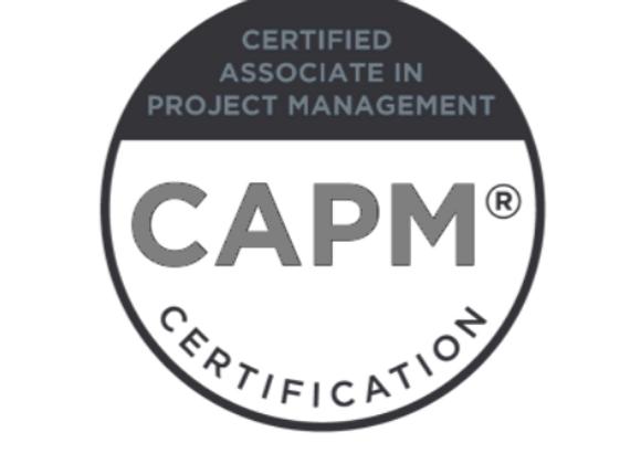 Certified Associate in Project Management (CAPM®) - 13 October 2020