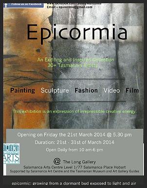 Epicormia Exhibition poster