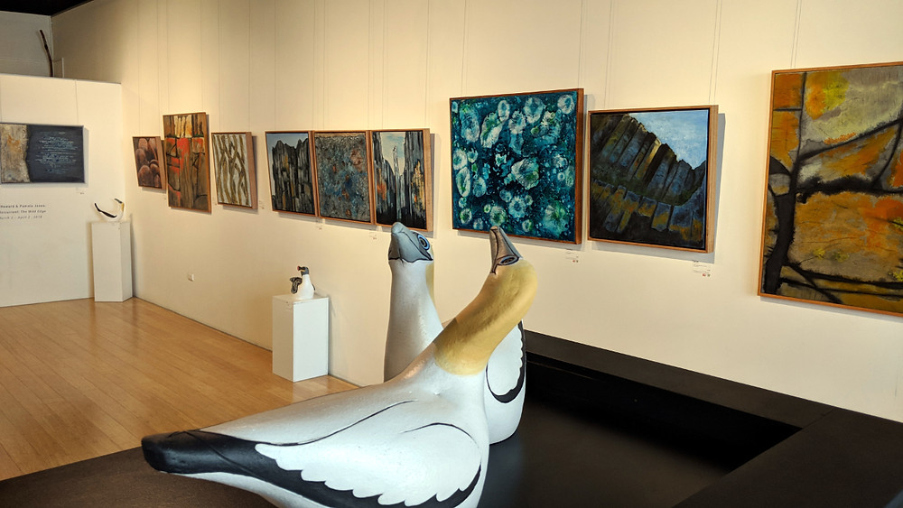 Undercurrent-the wild edge, an exhibition by Eve Howard and Pamela Jones