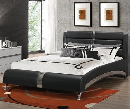300350 Modern Upholstered Bed