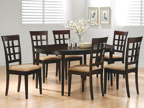 101828  Counter Height Table w/ 8 chairs