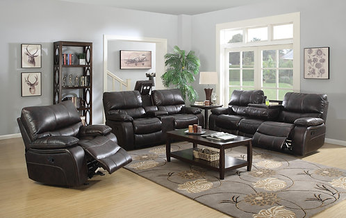 601931 2pc Sofa & Loveseat Recliners