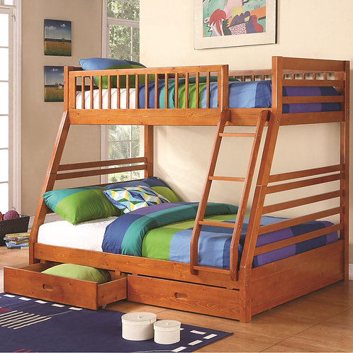 460183 Twin / Full Bunk Bed