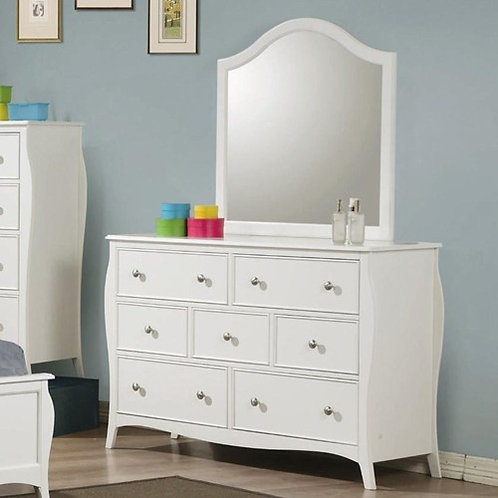 400563 Dominique 7 Drawer Dresser