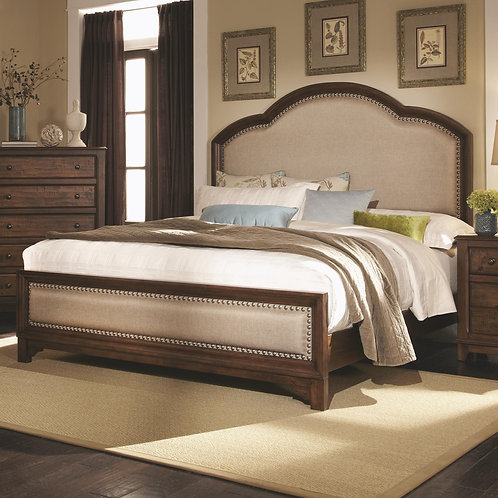 203261  Upholstered Bed
