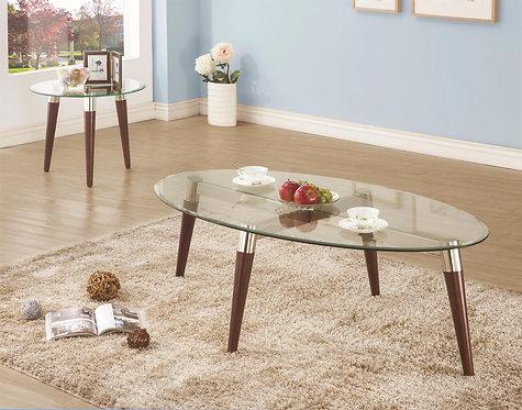702907 Oval Cocktail Table