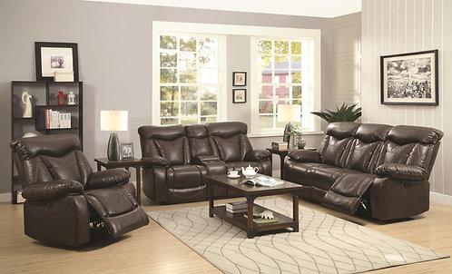 601711 2pc Sofa & Loveseat Recliners