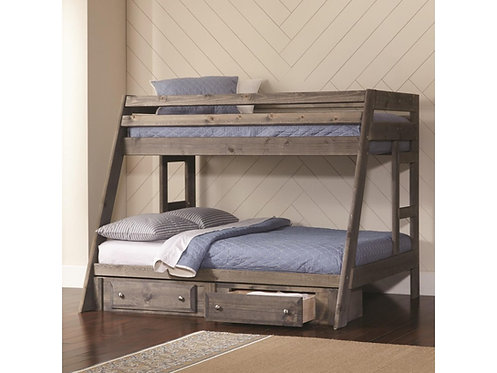 400830 Twin / Full  Bunk Bed