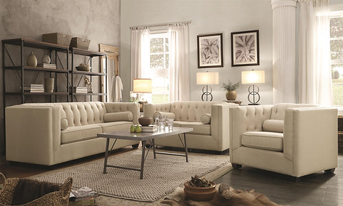 504904  2pc Sofa & Loveseat