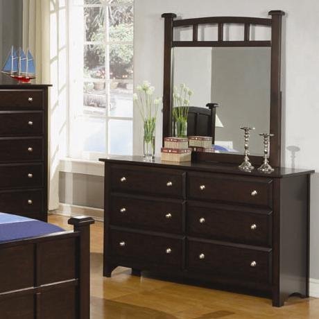 400753 Jasper 6 Drawer Dresser