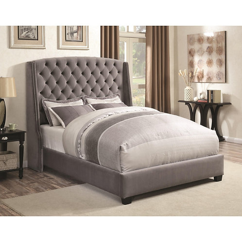 300515 Upholstered Bed