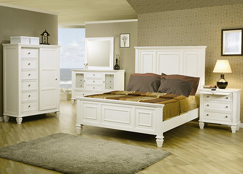 201301 Sleigh Bed