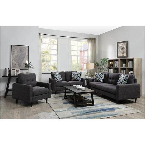 552001 2pc Sofa & Loveseat