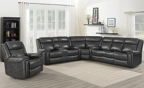 609320PPI 3pc Power Sectional