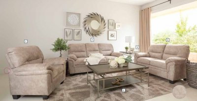 509251 2pc Sofa & Loveseat