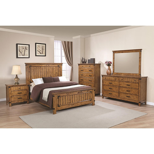 205261 Panel Bed