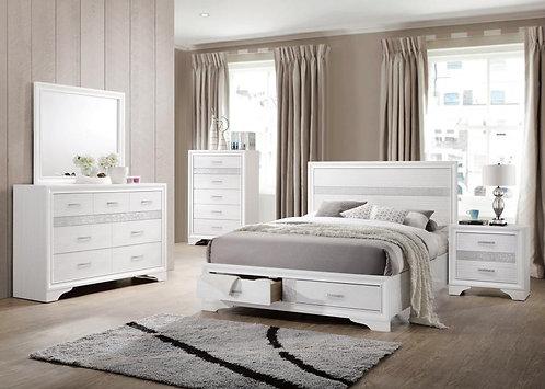 205111 4pc Storage Bedroom Set