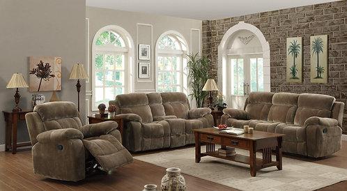 603031 2pc Sofa & Loveseat Recliners