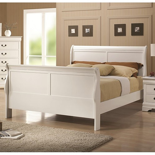 204691 Sleigh Style Bed