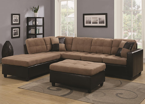 505675 Mallory Reversible Sectional