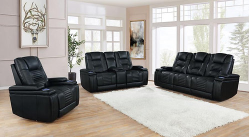 651301pp Dual Power Sofa & Loveseat