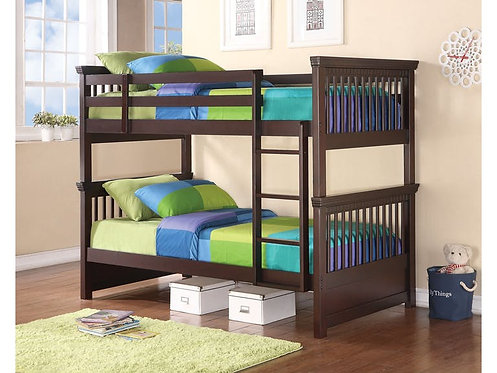 460266 Twin & Twin Bunk Bed