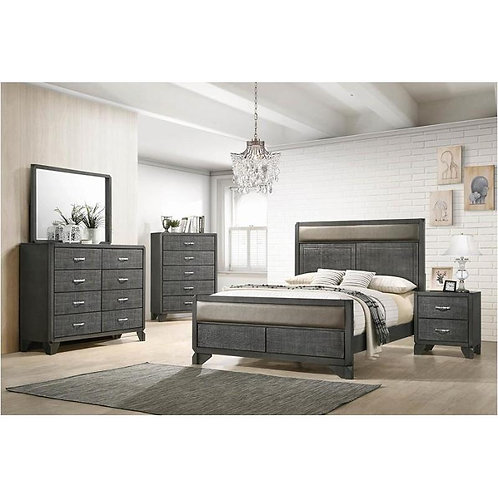 215901 Panel Bed