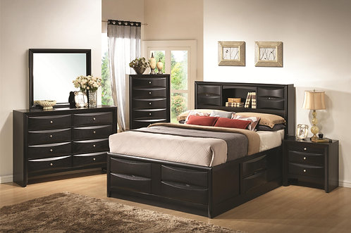 202701 Contemporary Storage Bed