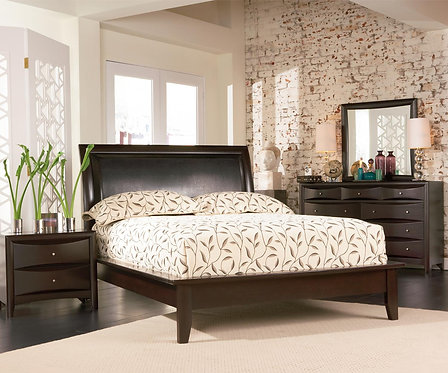 200410 Contemporary Platform Bed
